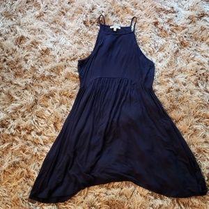 CHARLOTTE RUSSE M navy blue swing dress
